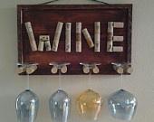 Decorative Wine Glass Holder