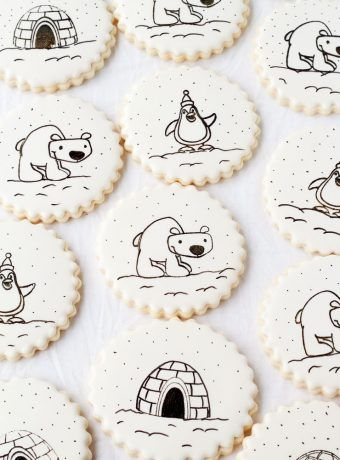 How to Stamp on a Cookie- Decorating sugar cookies just got easy! by   The Bearfoot Baker    #bearfootbaker #edibleart #rolloutcookies #cutecookies #animalcookies #royalicing #delicioustreats #cutetreats #cookiesforalloccassions