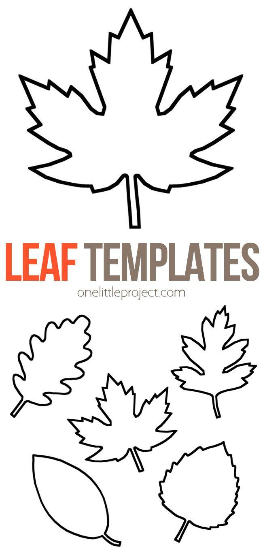 Leaf Template Fall Leaf Template Leaves Template Free Printable Leaf Template