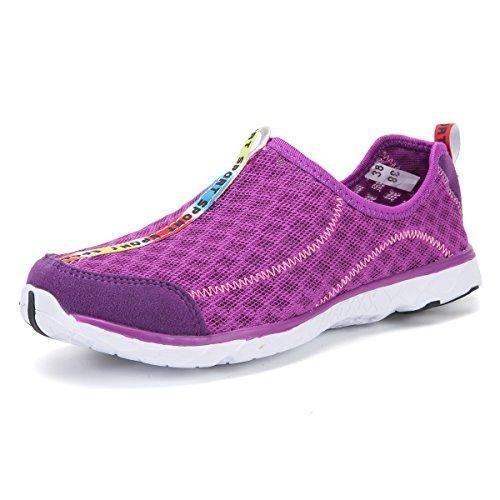 Oferta: 28.99€ Dto: -34%. Comprar Ofertas de DoGeek Unisex Zapatos de Agua Acuático Escarpines para el Agua de Surf de Playa de deporte para mujer hombre (41, violett) barato. ¡Mira las ofertas!
