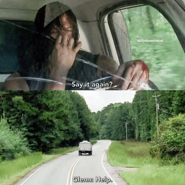 "WAS THAT GLENN?! | The End Of Last Night's ""Walking Dead"" Proves Glenn Is Still Alive"