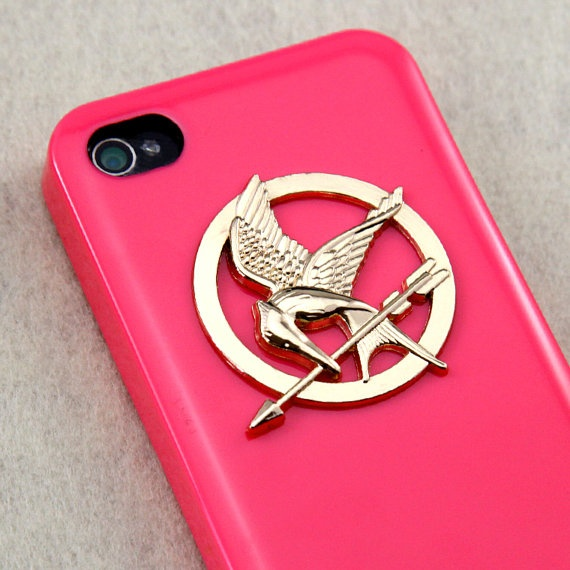hunger games mockingjay iphone case!
