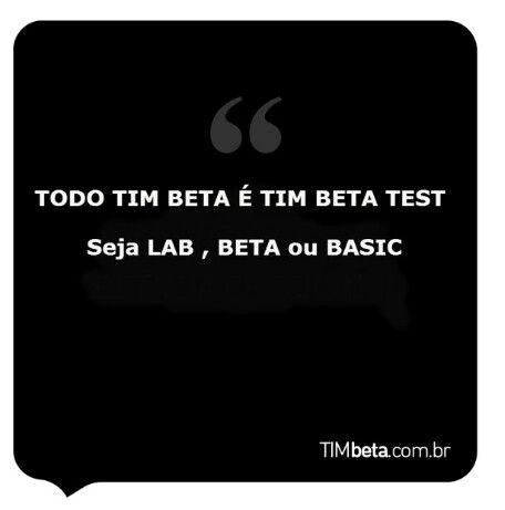 Você que tem dúvida sobre o que é beta test.