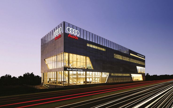 Project: Audi Centre Sydney || Solution: CASA developed sub-framing system and manufactured multi-faceted facade || Material: Aluminium @CraftMetals . #namebehindthebuild