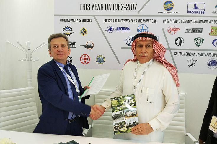 Выставка IDEX 2017: новейшая техника КрАЗ в Абу-Даби