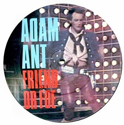 "7"" Picture-Single (Vinyl) Adam & The Ants - Friend or foe kaufen bei Hood.de"