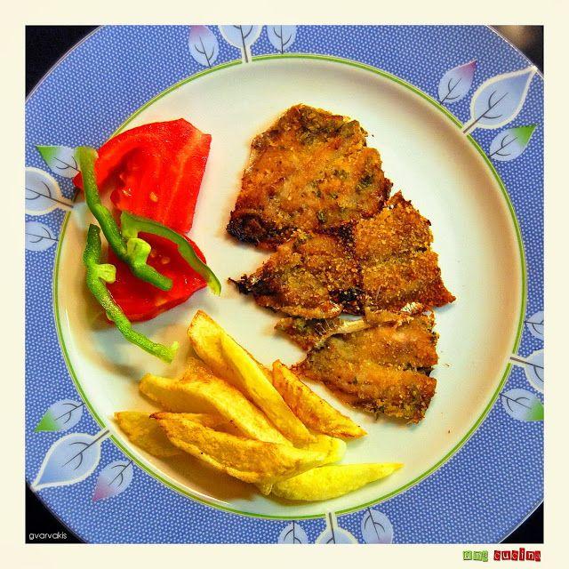 Σαρδέλες μαρινάτες ~ una cucina