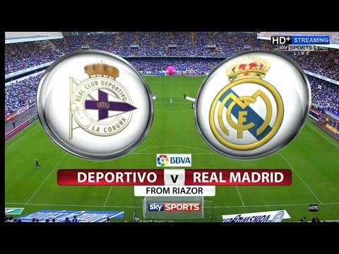 live footballstreaming free online espn | Primera División | Deportivo vs Real Madrid | live stream | 20-08-2017