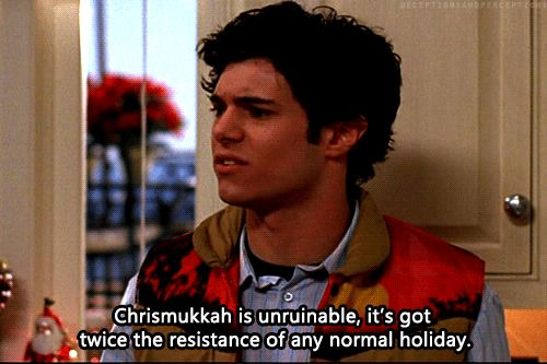Chrismukkah: twice the resistance of any normal holiday.