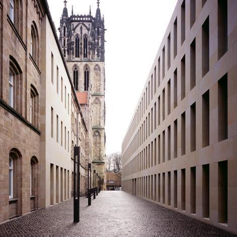 Max Dudler — Diözesanbibliothek, Münster