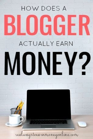 Ever wondered how a blogger earns money? This post explains exactly how it works. Make money blogging #money #blog