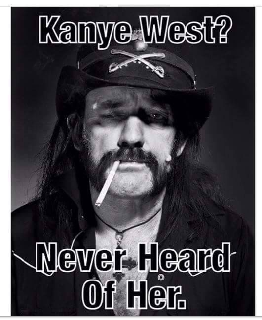 ( There Is No ) God bless Lemmy.