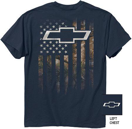 Chevrolet Camo Flag T-Shirt