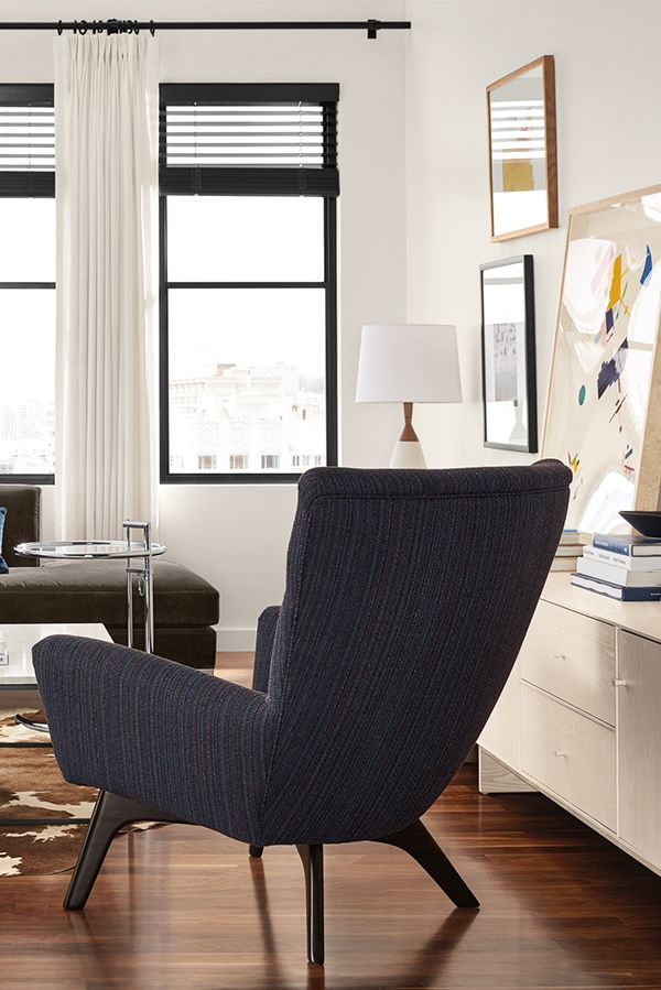 Boden Chair Ottoman Accent Chairs Modern Living Room