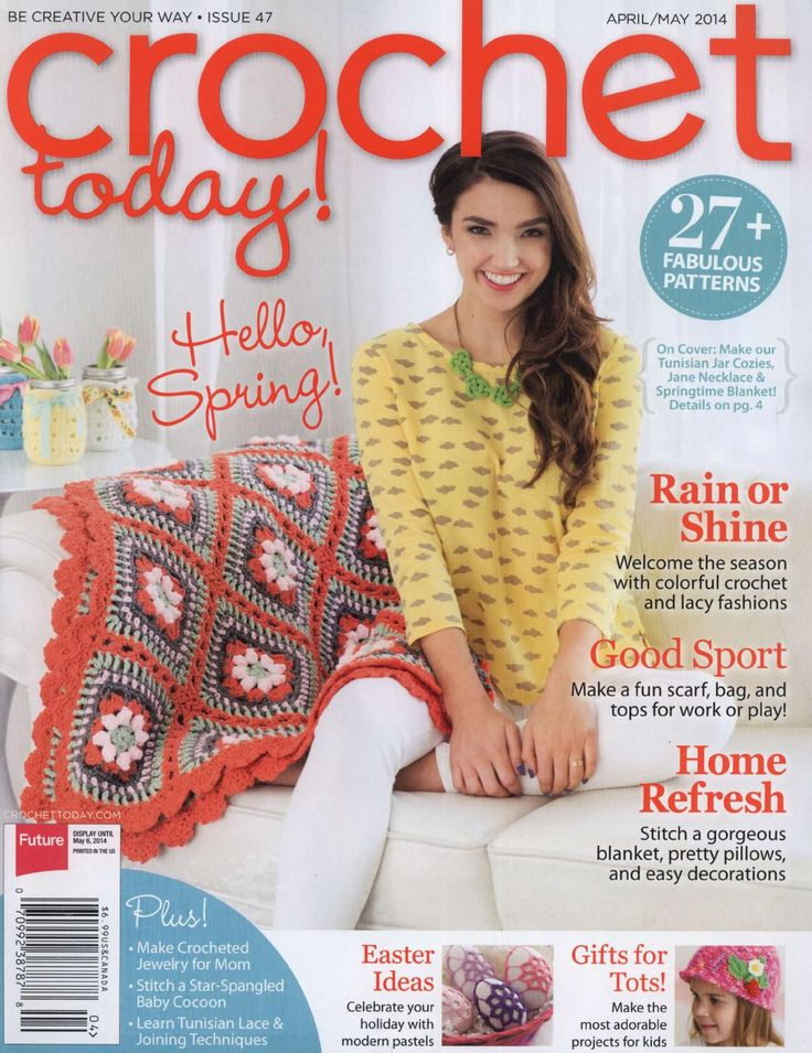 332 best crochet books magazines images on pinterest 48 crochet today april may 2014 fandeluxe Gallery