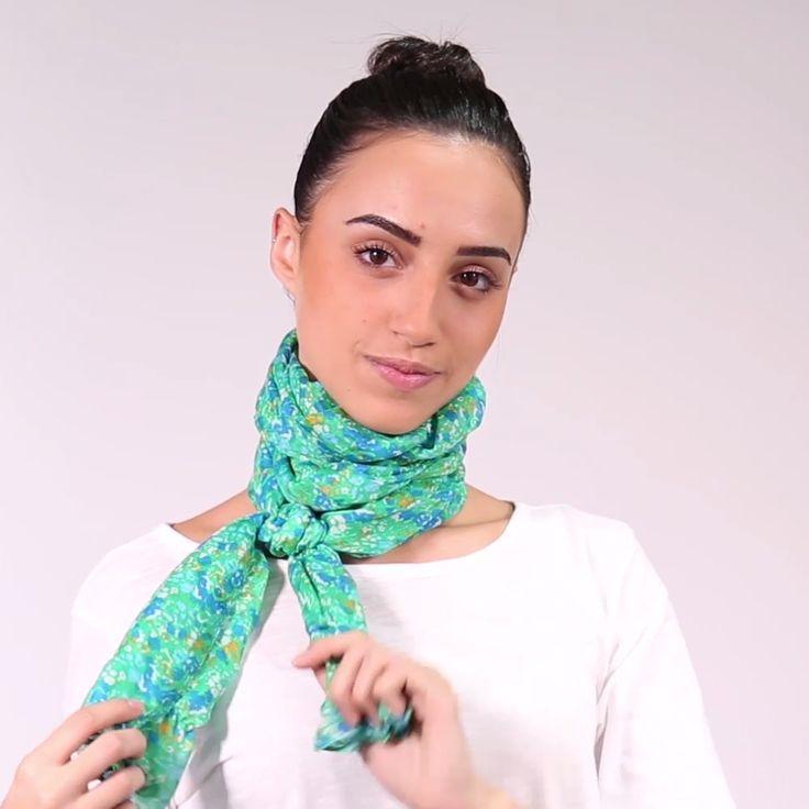 Knitting Pattern Scarf Hood With – Scarf Ideas 2020 Ways To Tie Scarves, Ways To Wear A Scarf, How To Wear Scarves, Look Fashion, Diy Fashion, Ideias Fashion, Fashion Tips, Fashion Hacks, Fashion Styles