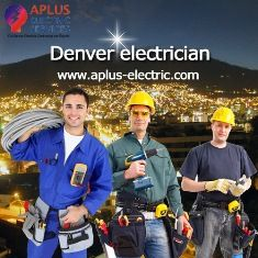 Electricians are there at your service to help you to fix the Denver electrician generated issues. The professional service providers will as well take care of all your setting up wants as well as upgrades. You should visit at aplus-electric.com; this is wonderful way to utilize electrician's service.