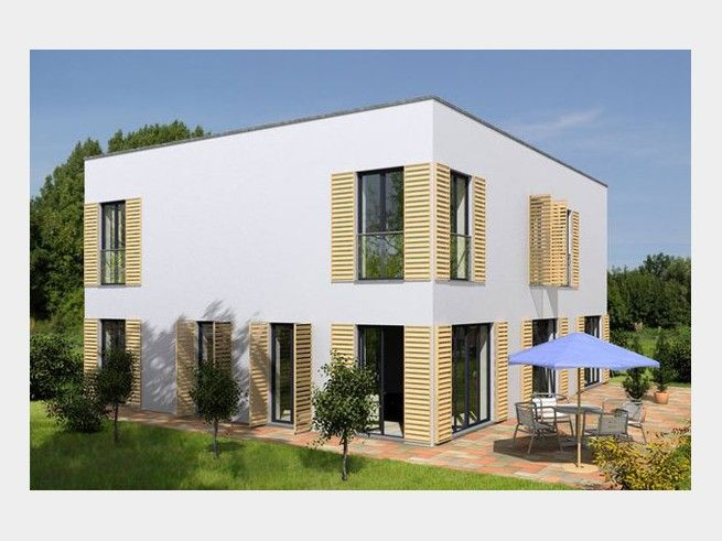 Bauhaus Dahlem - modernes Mehrgenerationenhaus von HÄUSERLAND-Immobilien | Haus XXL | Familienhaus mit Flachdach