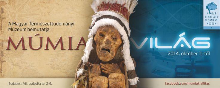 A Magyar Természettudományi Múzeum Múmiavilág című kiállításának keretében a világ különböző pontjairól érkező múmiákat tekinthettek meg az érdeklődők