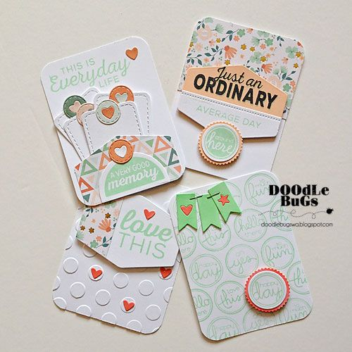 Doodlebugs: Project Life/ Pocket Scrapbooking with Technique T...