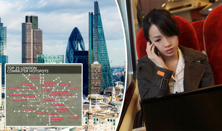 COMMUTER towns to London vary wildly in terms of costs, with house prices and high ticket costs making decisions on affordable places to live near to the capital difficult to make.