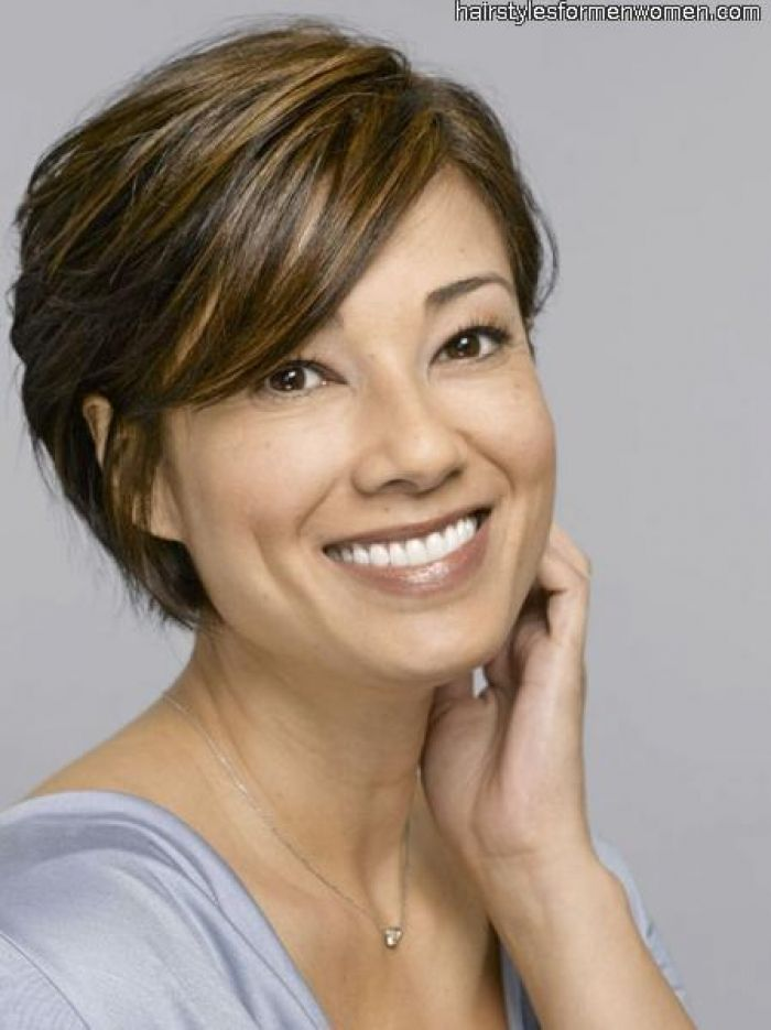 Short Hairstyles for Fine Hair Over 40 | hairstyles for women over 40 with fine hair, The Hairstyles Site ...
