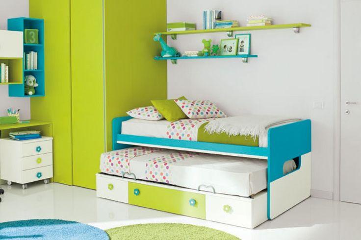 Cameretta golf letto in cedro e cielo colombini colombini camerette pinterest golf - Sponde letto bambini prenatal ...