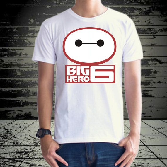 Baymax face big hero 6 design for tshirt by klikcklukc on Etsy