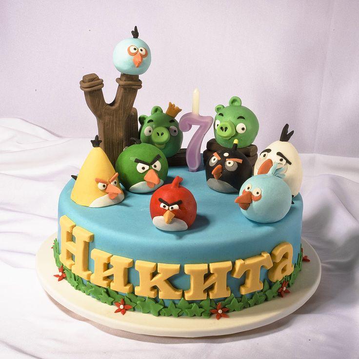 Детские торты на день рождения, для детей на 1 годик