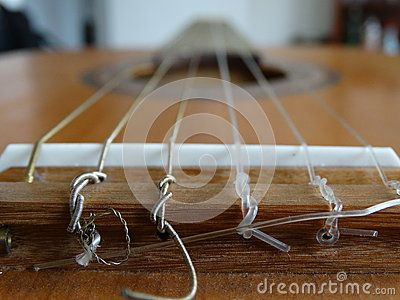 Acoustic Guitar angle shot close up on the bridge and strings, perfect for album covers.