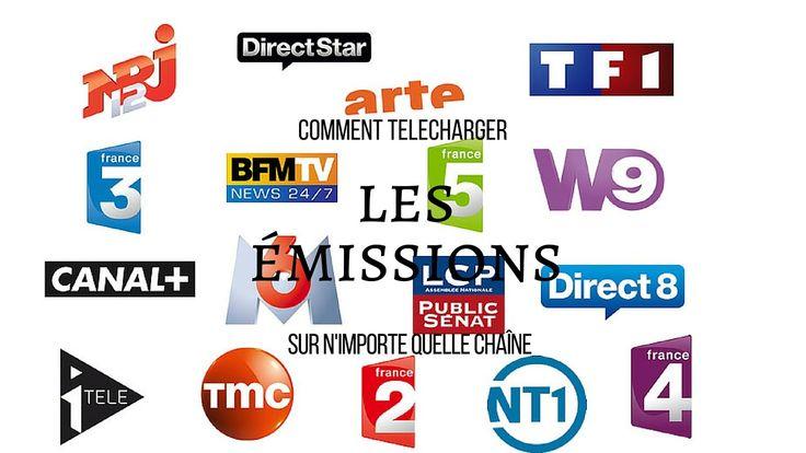 Comment télécharger une vidéo en  replay (pluzz tv, my TF1, M6 ,W9, D8 e...