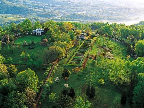 Thomas Jefferson's Monticello.  Visit and do all the tours. I must go back again someday.