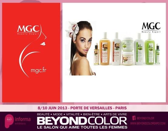 MGC INTERNATIONAL,  SAVOIR-FAIRE DE LA COIFFURE ET DE LA COSMÉTIQUE. http://www.mgc.fr/  Le groupe familial MGC International a été fondé en 1981 par Marcel Cohen. En 1983, le groupe ouvre le premier magasin spécialisé dans les cosmétiques ethniques en France....  Lire la suite ici --> http://my.beyond-color.com/mgc-international-le-savoir-faire-de-la-coiffure-et-la-cosmetique/