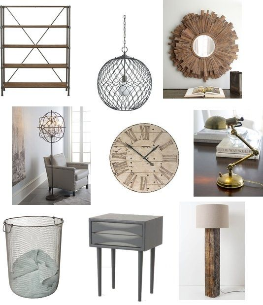 Industrial Chic Home Decor: Home: Living Room/family Room