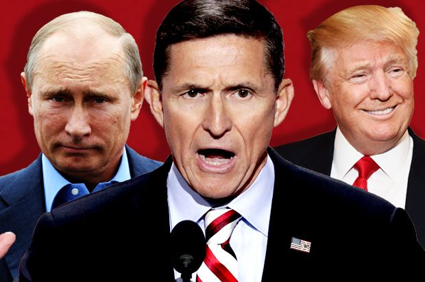 None dare call it treason: As the Flynn scandal widens, let's consider the evidence that Trump is a traitor - Salon.com