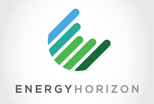 Conceptual logo for a clean energy company