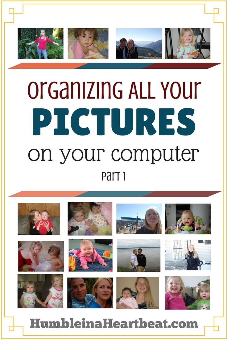 Need a little push to get your digital photos organized? Follow along and your pictures will be organized before you know it!