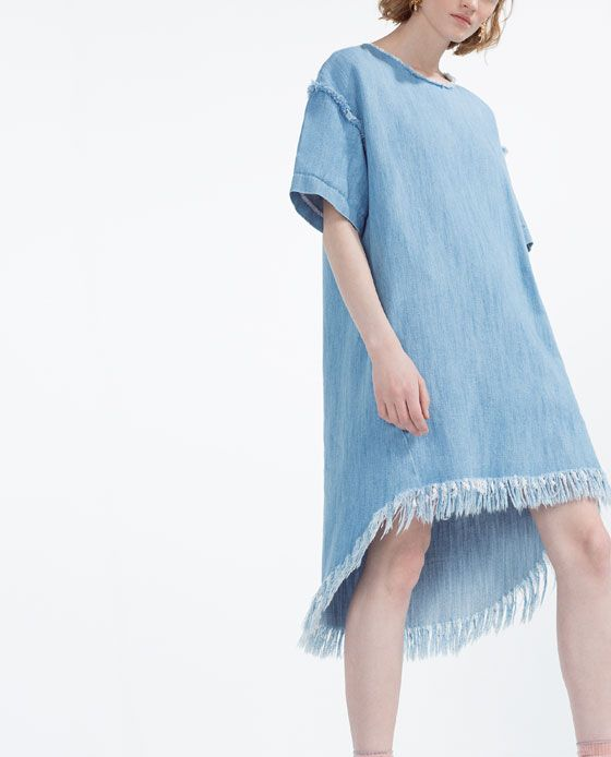 OVERSIZED DRESS - Get your Pocahontas on