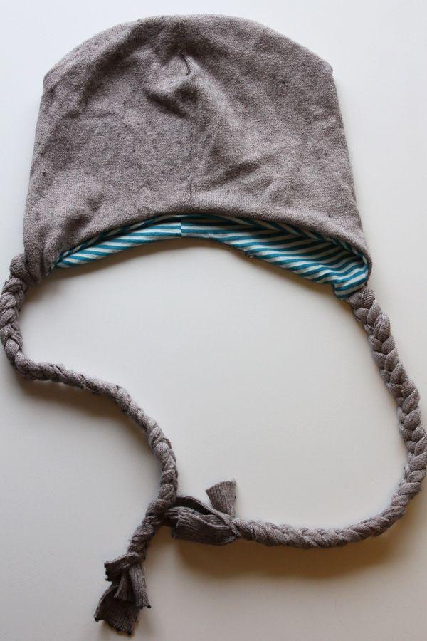 neuemütze aus altempullover