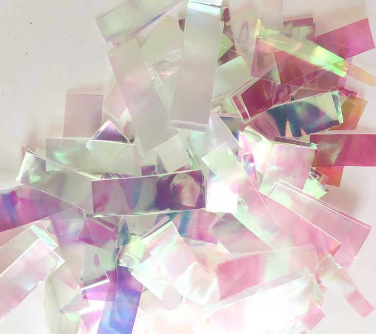 Iridescent-confetti-toss-custom-wedding