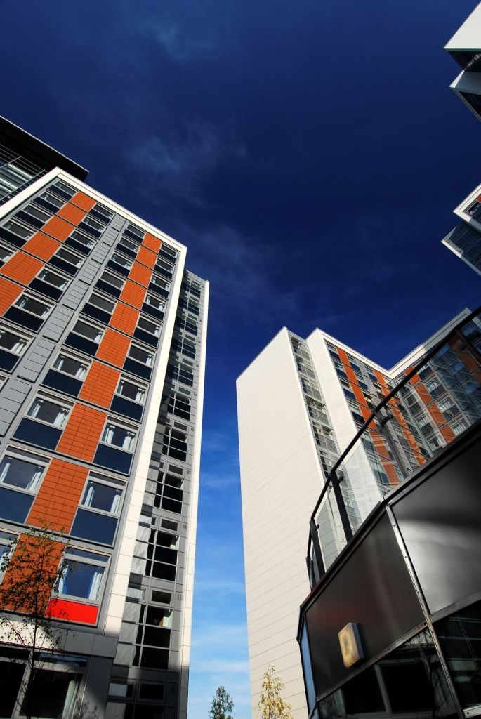 Paragon student building, west London - tallest modular building at time of construction