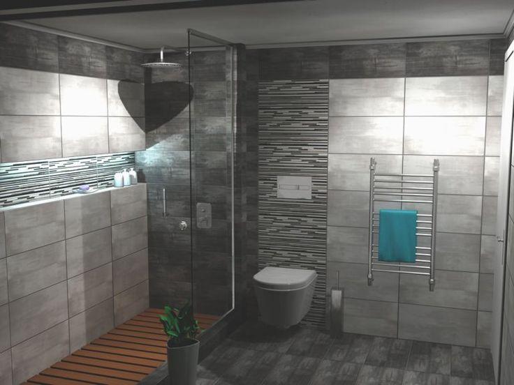 Κρεμαστή λεκάνη μπάνιου Smart-48 σε συνδυασμό με εντοιχισμένο καζάνι της Geberit.