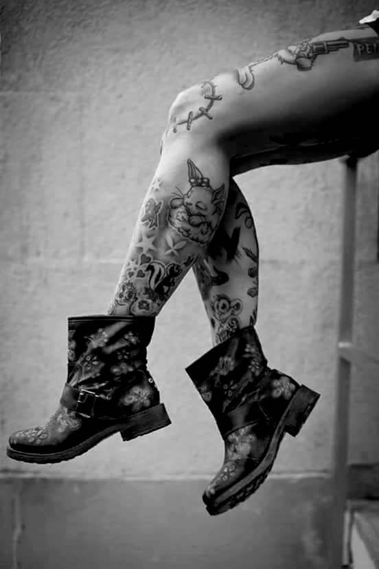 954 best inked up images on pinterest tattoo girls for Wild zero tattoo