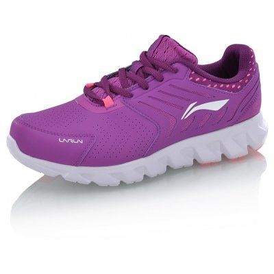 Li-Ning Arc Series Women's Cushion Running Shoes Women's Sneakers ARHM028  Li-Ning Arc Series Women's Cushion Running Shoes Women's Sneakers ARHM028 -Target User:Adult  -Type:Cushion Running Shoes  -Gender:Men  Tread:RB/IP   -Insole:EVA  -Upper&Vamp:Textile/Synthetic Leather  -Character:Breathable   -Width:Medium -Closed:Lace-up style  -Function:Cushioning -Color:-4New Basic Black/Wild Plum  -5Brilliant Rose/Basic White -Upper height:General -Occasion:Sports/Running -Package:1 pair o..