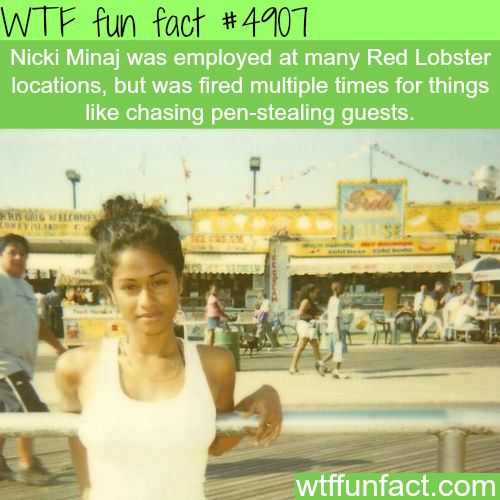 Young Nicki Minaj - Hmm! ...seems Legit! - But, gonna get back to you on this one!  ~WTF? not-so-fun facts