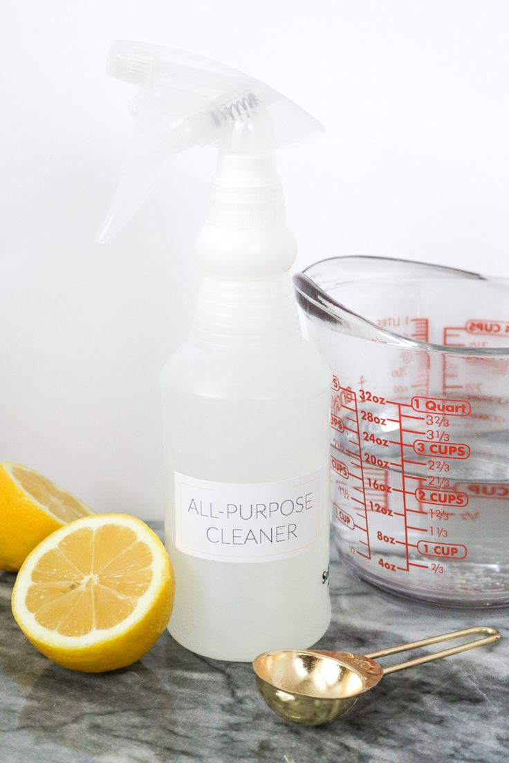 Make your own all-purpose cleaner that will clean just about anything with  water,