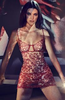 Welcome to Ayela's Blog: Images from Kendall Jenner's Lingerie Shoot for La...