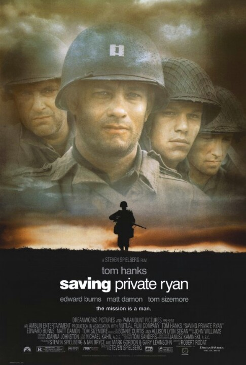 Day 56: A good war film. Saving Private Ryan (1998) My favourite movie