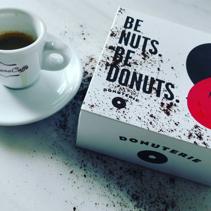 Stylish Goriziana Caffe Extra Gold blend coffee & stylish donuts...for who wants to be stylish and...nuts!;)