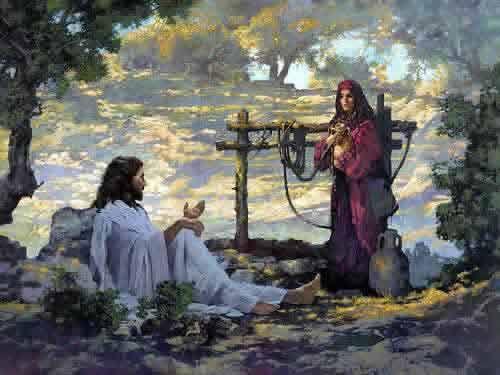 JESUS CRISTO É O CAMINHO! A VERDADE E A VIDA!: A Mulher Samaritana e Jesus